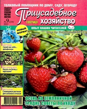 Приусадебное хозяйство Украина №9 сентябрь 2021